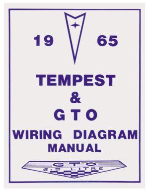 Wiring Diagram Manuals Fits 1965 GTO @ OPGI