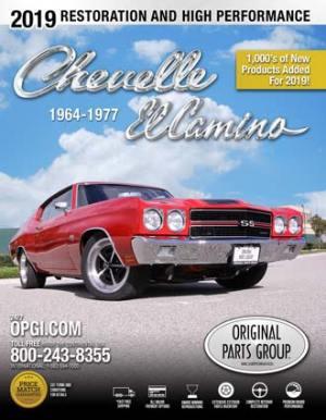 Free 196477 ChevelleEl Camino Restoration Parts Catalog
