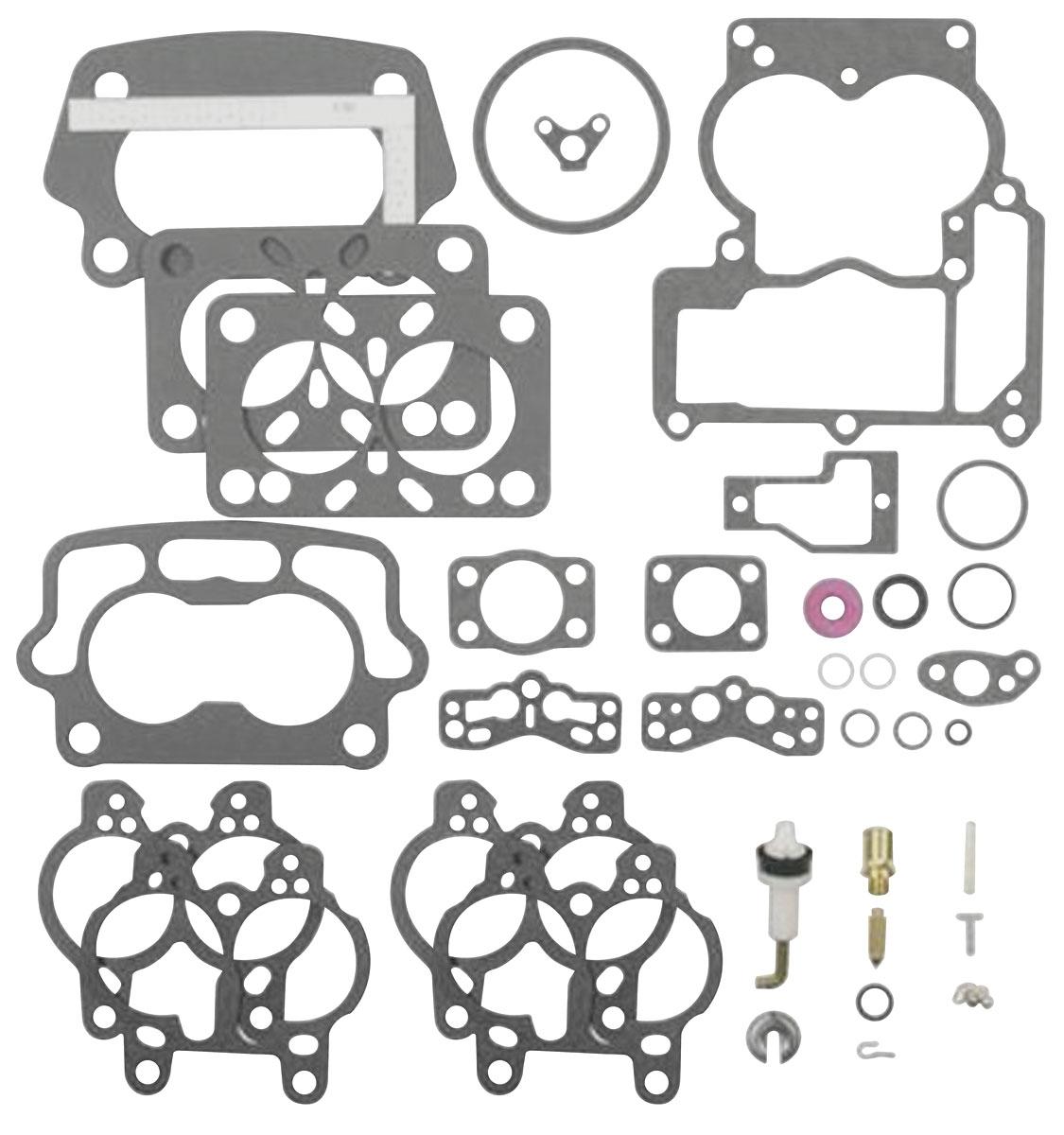 Rebuild Kit Carburetor 66 Pontiac Olds Tri Power