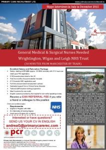 Prmary Care Recruiting - Opportunita' di lavoro per Infermieri nel Regno Unito