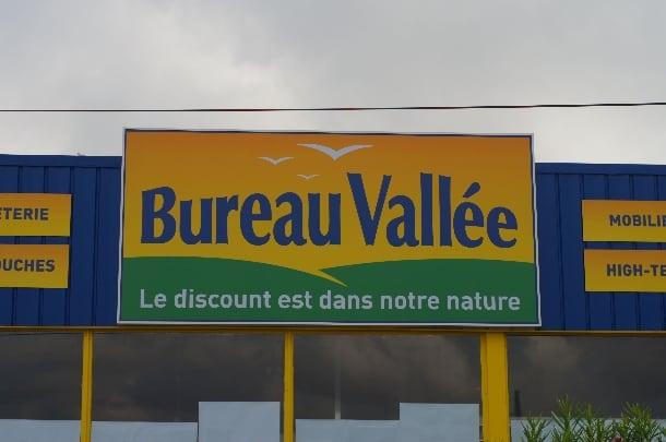 bureau vallee montpellier exterior sign slider 610