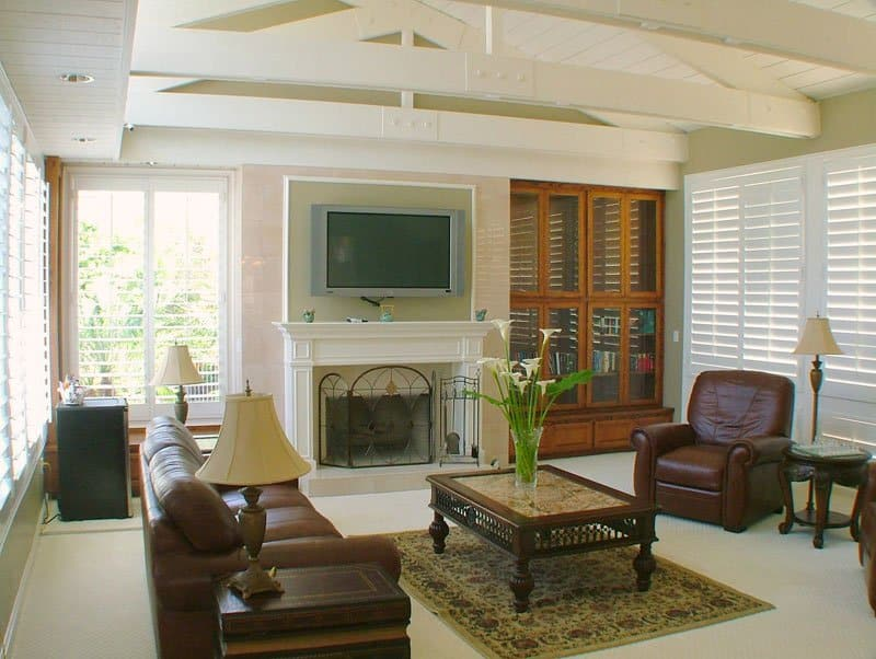 domus retreat rapid detox recovery living room