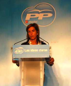 Ana Mato, con el lema las ideas claras, declara que el aborto es un derecho, y el menor de los problemas de las familias.