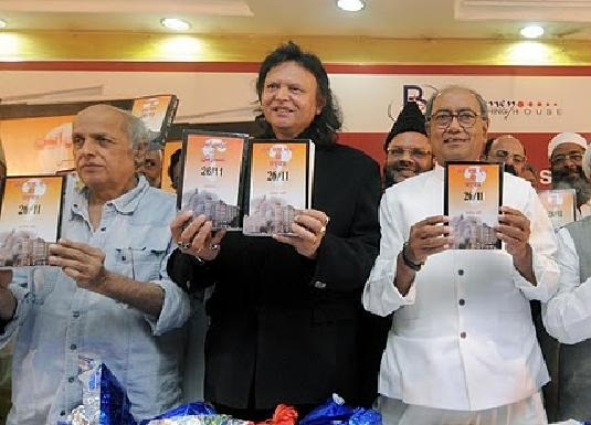 Digvijay Singh and Mahesh Bhatt blaming RSS for Mumbai terror attacks