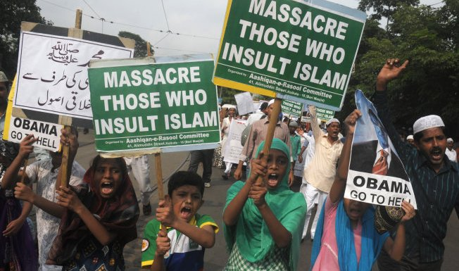 Kolkata protests by Muslim groups