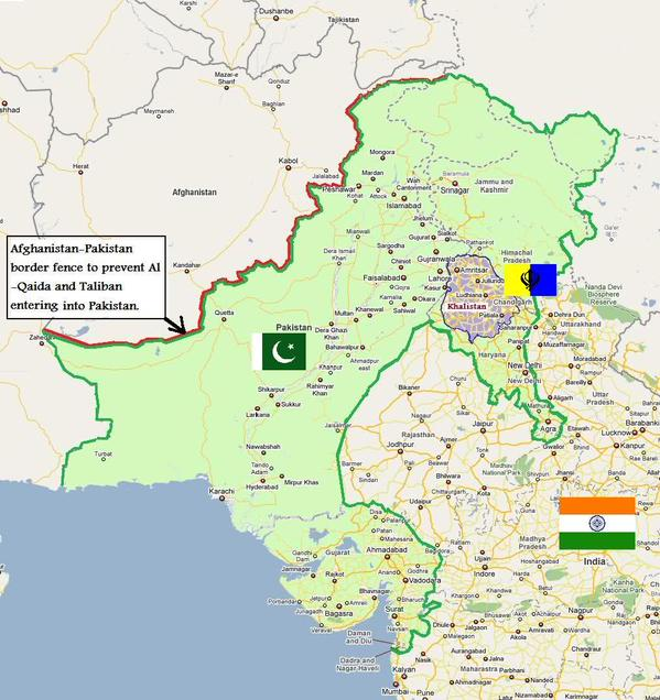 Does Pakistan Claim Junagadh in the Indian State of ...  Pakistan State Map