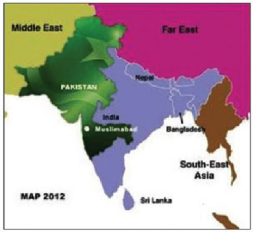 Islamabad Pakistan Map: 7 Totally Random And Funny Maps Of India Some Pakistanis