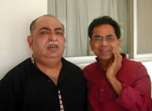 Ashock Chakradhar and Munawwar Rana