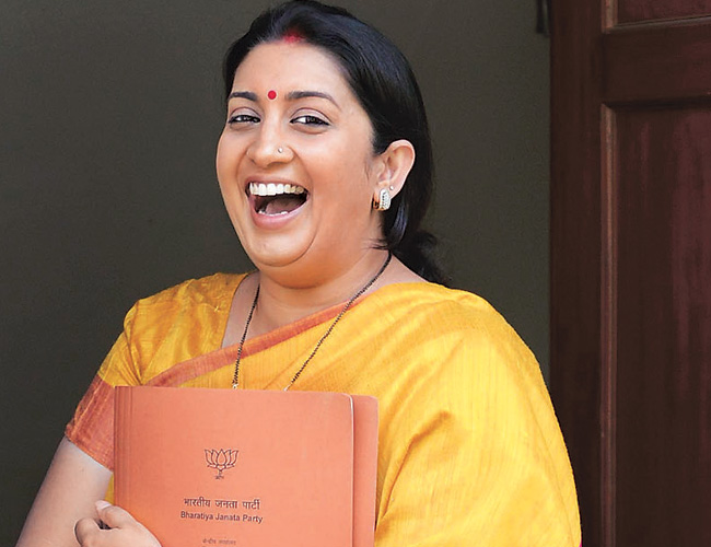 As expected, hitjobs begin against Smriti Irani as the I&B minister, here's the first one