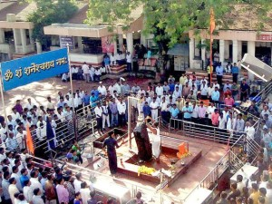 Shani Shingnapur temple: the center of the current storm