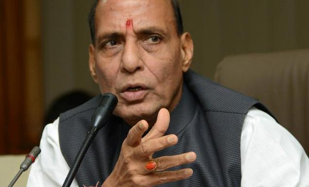 Defense Minister Rajnath Singh was in J&K today