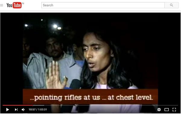 Kavita Krishnan during her JNU days