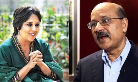 The Print founders Barkha Dutt and Shekhar Gupta