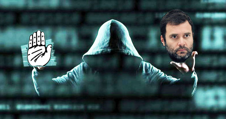 Who hacked Twitter accounts of Congress and Rahul Gandhi? Options are...