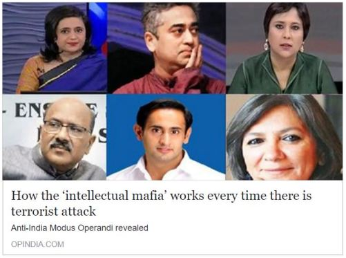 How the 'intellectual mafia' works every time there is terrorist attack