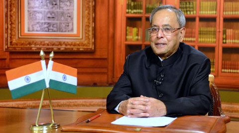 Pranab Mukherjee hails ECI for perfectly conducted elections