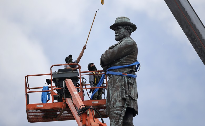 Is toppling of a Confederate statue in the US different from demolishing Babri Masjid?