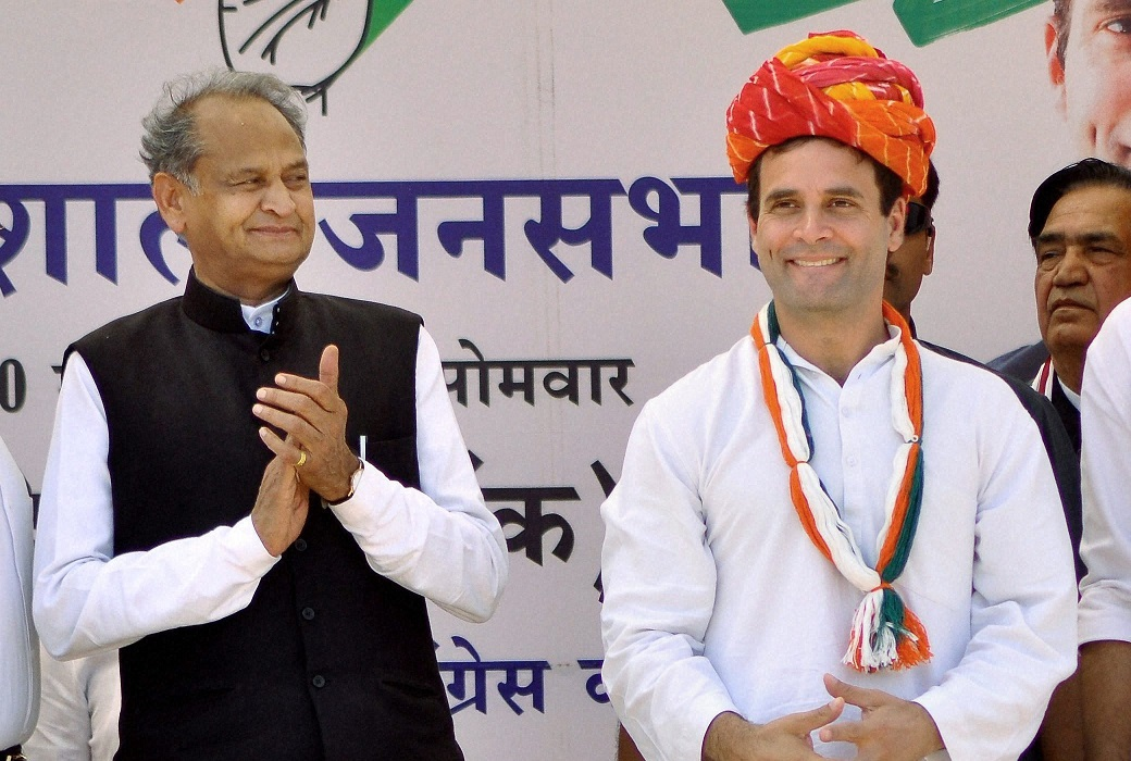 Newspaper report suggests Rahul Gandhi may step down as Congress President, Ashok Gehlot to take over - Opindia News