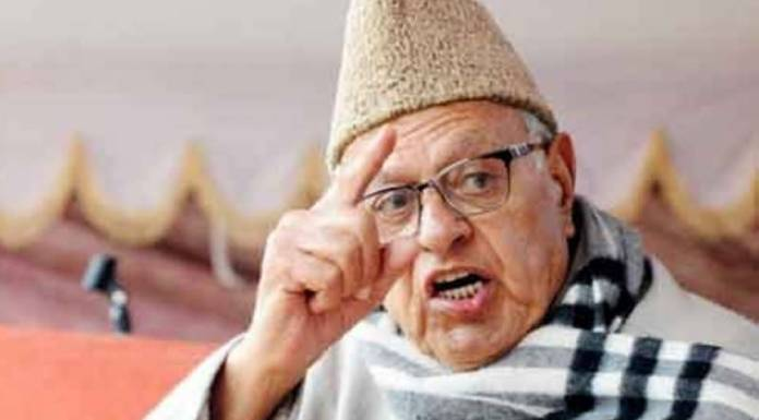 Farooq Abdullah launches an incoherent rant of lies after being caught absconding parliament out of his own will
