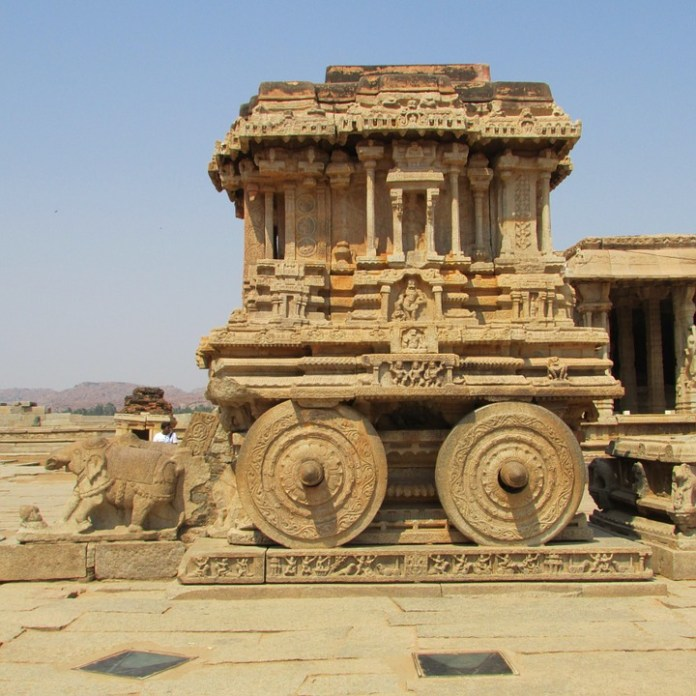 A man from Bengaluru has been booked by police for damaging and bringing down two pillars in Hampi UNESCO WH site
