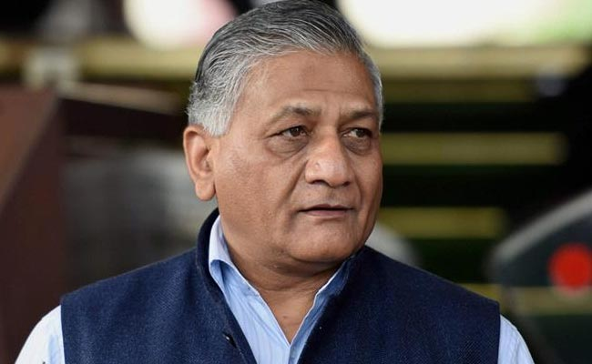 Wear gloves when you use the sticks: Former COAS and Union Minister Gen VK Singh's light-hearted advice to police to ensure Indians stay at home