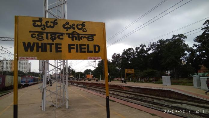 2 additional lines will be constructed between Bengaluru Cantt and Whitefield