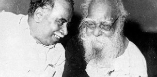 Why did CN Annadurai, the founder of DMK, part ways with Periyar?