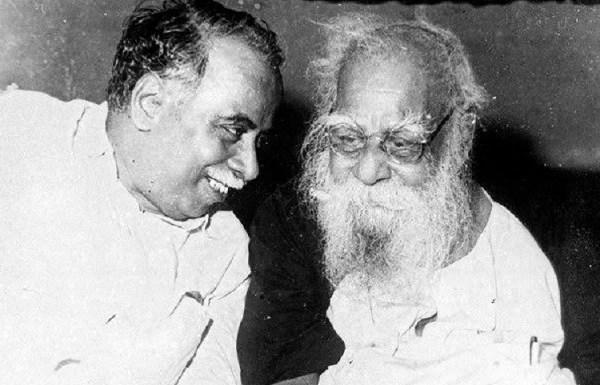 Why did CN Annadurai, the founder of DMK, part ways with Periyar?