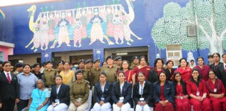 all women staff at Gandhinagar station