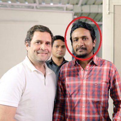 Will Rahul Gandhi apologise for meeting these vile and abusive supporters of his?