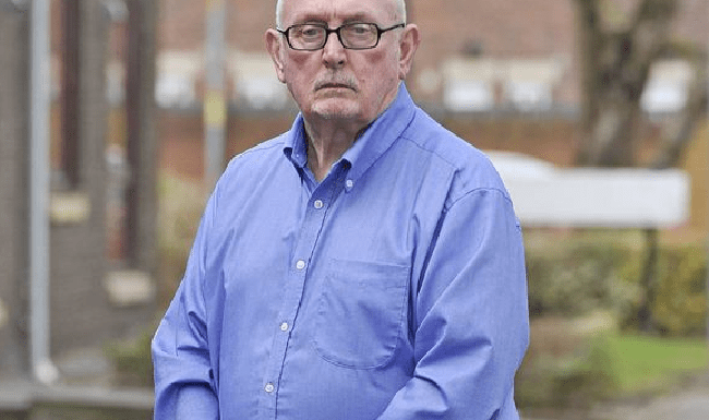 Edward Hayes, 76, is a victim of prolonged sexual abuse by a nun