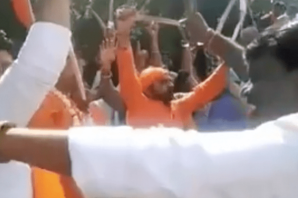 BJP files complaint against AAP workers accused of spreading communal violence during Ram Navami