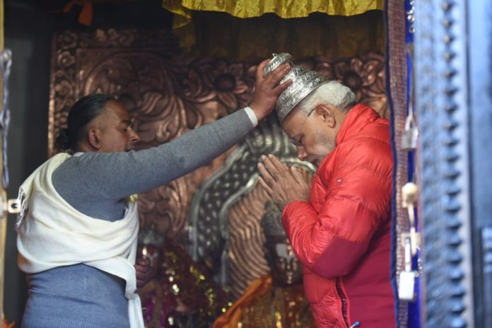 PM Modi became the first world leader to visit the Muktinath temple
