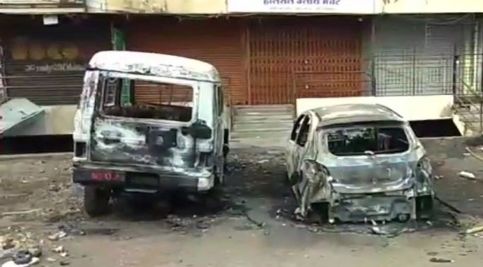 violent clashses in Aurangabad