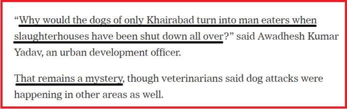 When New York Times exploited children's deaths to malign Yogi govt's crackdown on illegal slaughterhouses