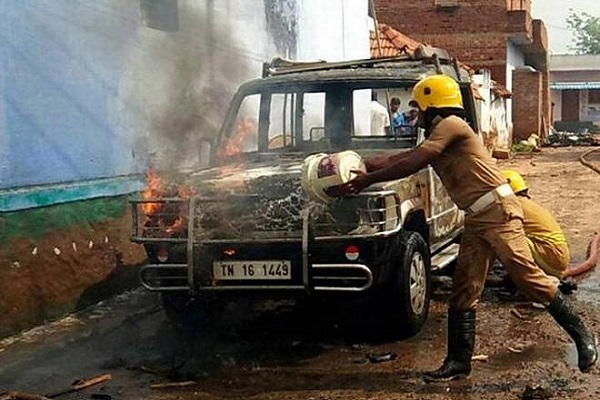 Clashes erupt after Muslims oppose Dalit woman's funeral procession passing through their area