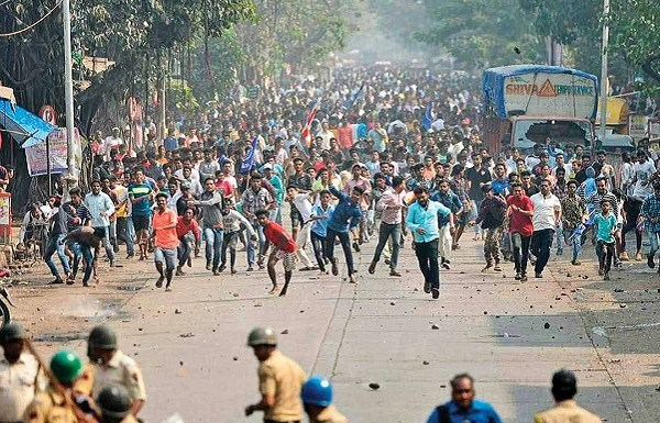 Five top suspected urban Maoists arrested in connection with the Bhima Koregaon violence
