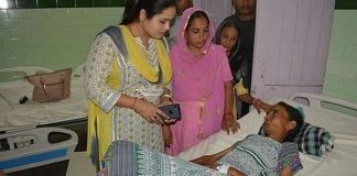Triple talq victim Razia was allegedly beaten and starved for over a month by her husband.