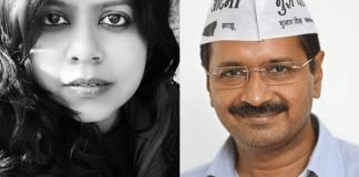 Sexual slurs and abuses hurled at a girl after she cracks a joke on Arvind Kejriwal