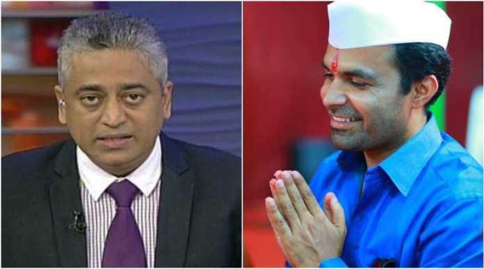 Rajdeep Sardesai tries to bully Tushar Damgude, gets slammed for his blatant bias