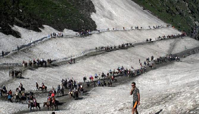 Security forces have information of a possible attempt by Jaish terrorists to attack Amarnath pilgrims in the Baltal route