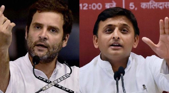 Akhilesh asks Congress to take more responsibilty
