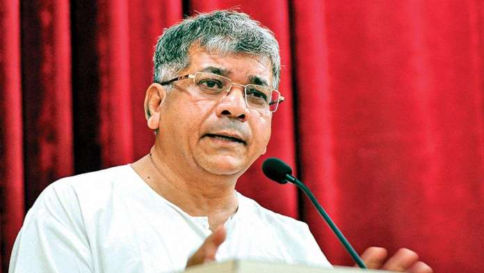 Prakash Ambedkar trains guns on RSS