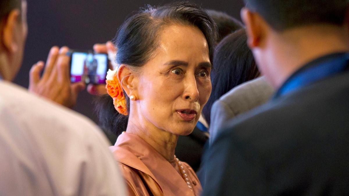 Aung San Suu Kyi: Amnesty International strips Myanmar leader's human rights award