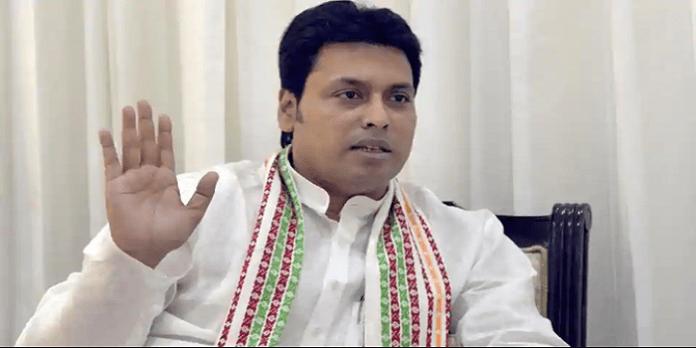 CM of Tripura Biplab Deb