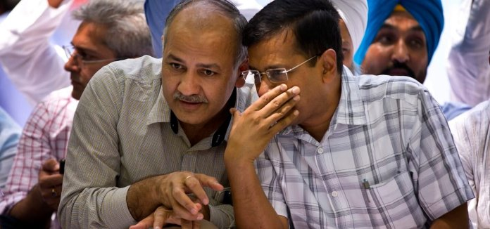 Journalists have also started joining AAP leaders in attempts to peddle fake news regarding EVMs