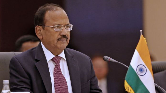 NSA Ajit Doval speaks to media over the issue of Jammu and Kashmir
