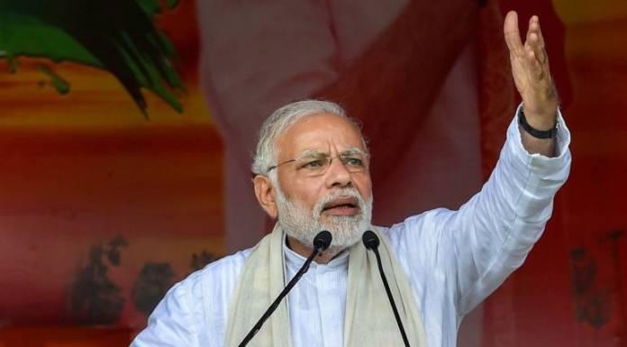 PM Modi addressed a rally in Siliguri, WB
