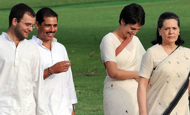 Congress in trouble as noose tightens against Robert Vadra