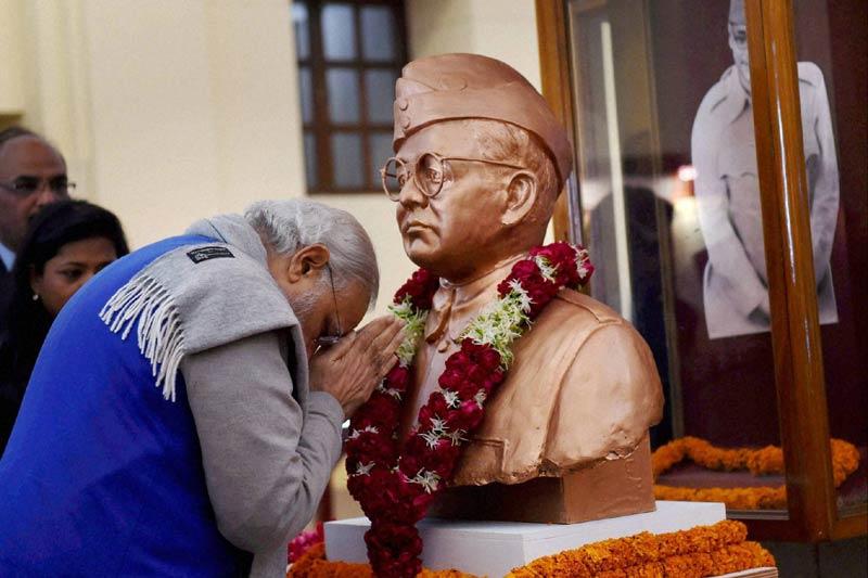 PM Modi inaugurates Netaji Subhash Chandra Bose museum at Red Fort